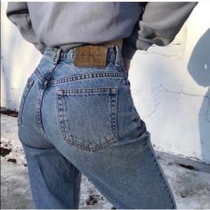 Vintage 90's Calvin Klein High Waist Rise Jeans